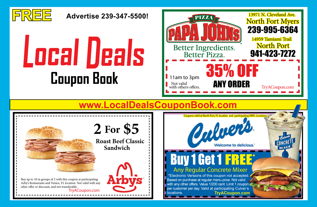 Local deals Coupons